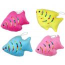 groothandel Figuren & beelden: Pluche Fish  assorti ca. 13 x 9 cm