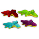 wholesale Dolls &Plush: Crocodile lying - 4 times colorful assorted - abou