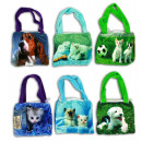 Bag by 6-fold with animal Photo - ca 15x17cm