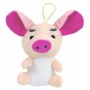 Świnia z długimi uszami około 13 cm