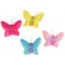 Großhandel Puppen & Plüsch: Plüsch Schmetterling 3-fach sortiert ca ...