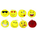 Laughing faces of plush 8 times soriert ca 13 cm