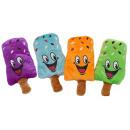 Popsicles 4 assorted plush ca 15 cm
