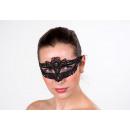 maschera per gli occhi di sofisticati pizzo nero