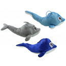 wholesale Dolls &Plush: Dolphin glittering 3- times assorted lying about 2