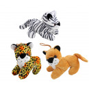 wholesale Dolls &Plush: Predators 3 times assorted lying about 16 cm