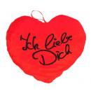 Großhandel Geschenkartikel: Herz 'Ich liebe dich' ca 35 cm