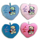Heart 'I love you' with bear embroidery 4-