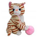 wholesale Dolls &Plush: Cat sitting with ball of wool about 20 cm