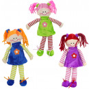 wholesale Toys: Zopfpuppe 3x assorted ca 32 cm
