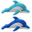 Delfin liggen met geborduurde ogen 2 keer gesortee