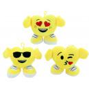 Smile emoticon figura 3- volte assortito ca 15 cm