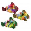 wholesale Figures & Sculptures: Glitter fish with kuss mouth 3 colors assorted ca