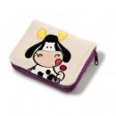 nagyker Táskák és utazási kellékek: Nici erszényes Cow 36841 ca 12x10x2,5cm