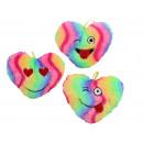 Großhandel Verkleidung & Kostüme: Herz regenbogenfarbig 3-fach sortiert ca ...