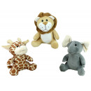 wholesale Dolls &Plush: Beast 3-fold  assorted sitting about 23 cm