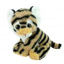 nagyker Hógömbök: Tigris baba csillogó szemmel, kb. 20cm