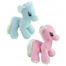 wholesale Dolls &Plush: Horse standing pink and blue assorted - about ...