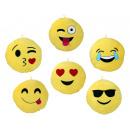 Kissen Smilie  Emoticon 7-fach sortiert ca 35 cm