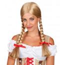 Zopfperücke Heidi, blond