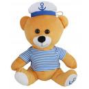 groothandel Tassen & reisartikelen: Pelsrob Kuddel met gestreept shirt en kapiteinshoe