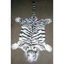 grossiste Tapis & Sols: Tiger peau blanche  avec la tête - environ 140 cm d