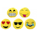 wholesale Cushions & Blankets: Pillows Smilie Emoticon 5x assorted ca 43 cm