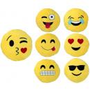 Kissen Smilie  Emoticon 7-fach sortiert ca 45 cm