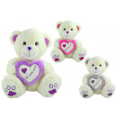 Bear heartbear 3 times assorted gray / pink / purp