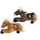 Koń z siodłem 2-kolorowym mieszany leżący około 35