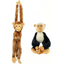 wholesale Dolls &Plush: Dangling monkey 2 colors assorted total hanging ap