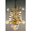 grossiste Tapis & Sols: Tiger fourrure  avec la tête brune - environ 140 cm