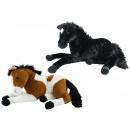 Horse lying 2 assorted ca 70 cm