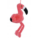 wholesale Snow Globes: Flamingo with glitter eyes total length about 50cm