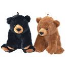 Großhandel Puppen & Plüsch: Plüsch Bär 2-farbig sortiert ca 24 cm