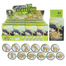 wholesale Experimentation & Research: Excavation set dinosaurs 6-fold sort in box approx