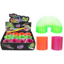 Neon spiral 3 colors assorted approx 55mm