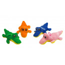 Großhandel Puppen & Plüsch: Plüsch Krokodil 4-fach sortiert ca 17 cm