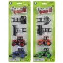 Set di trattori 4 pezzi 2- volte assortito sulla c