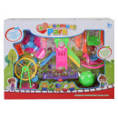 wholesale Child and Baby Equipment: Playground with play equipment and figures in a bo