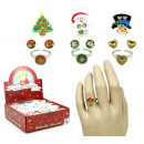 Christmas decoration set 3 times assorted - on car