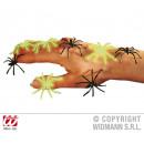 Spider type néon noir + (lueur dans l'obscurit