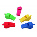 wholesale Smoking Accessories: Whistle 5- times assorted - about 5 cm