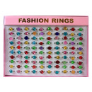 Rings Glitter  rings repeatedly sorted for children