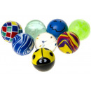 Flummi Dopsball diverse Mix ca 27 mm
