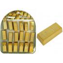 Lingotti d'oro con magnete COOLMAGNETS ca 6x2,