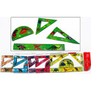 Ruler Sets 4 pcs. 6 assorted colors