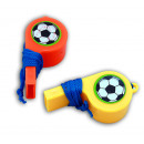 wholesale Food & Beverage: Whistle - football whistle on Volume 2 assorted -