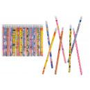Pencils different motives - about 19 cm