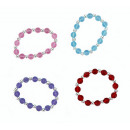 Bracelet 4 assorted circumference approx 17cm